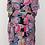 Thumbnail: Paisley Print High Low V-Neck Dress