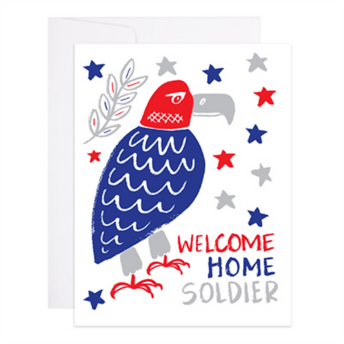 9th Letterpress - Welcome Home Soldier