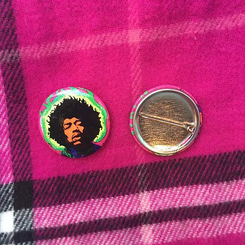 Ephemera - Jimi Hendrix Button