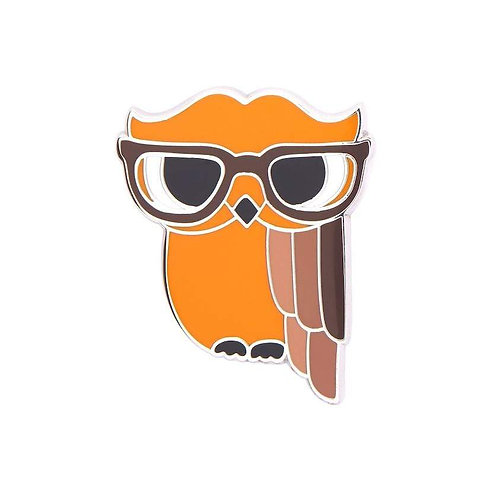 Erstwilder - Waldo the Wacky Wise Owl Enamel Pin