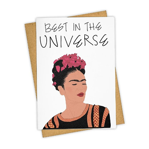 Tay Ham Card - Best in the Universe
