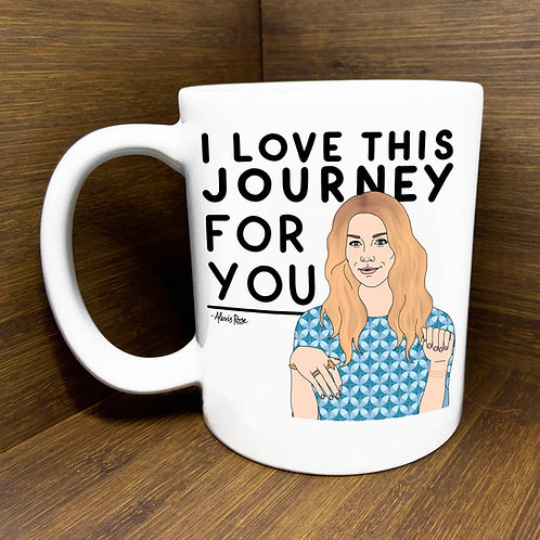 Citizen Ruth - I Love This Journey For You Mug