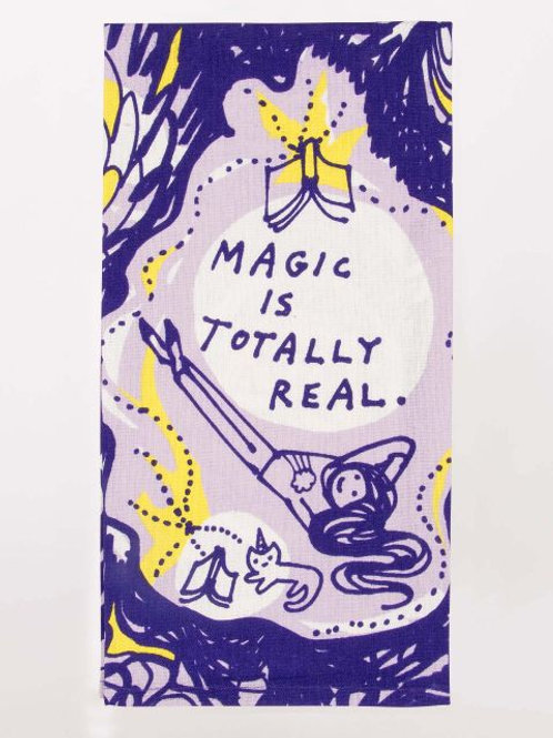 Blue Q - Magic Is Totally Real Dish Towel