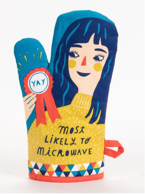 Blue Q - Most Likely To Microwave Oven Mitt