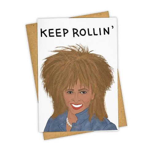 Tay Ham Card - Keep Rollin' Card