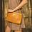 Thumbnail: Kiko Leather - Tan Weaved Crossbody
