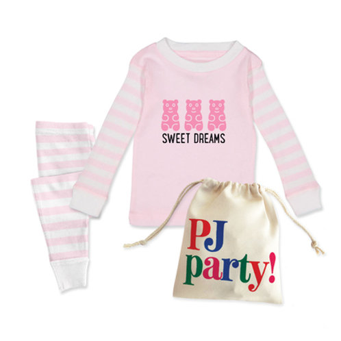 Rock Scissors Paper - Sweet Dreams Kids Pajama Set
