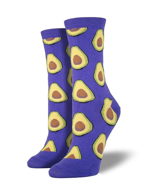 Socksmith - Avocado Crew Socks