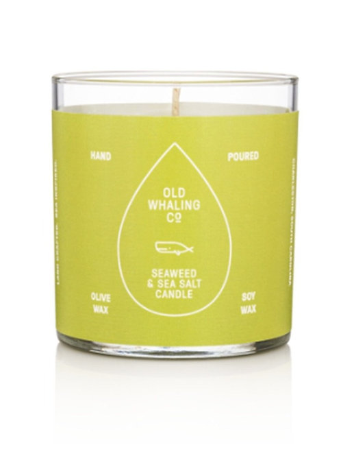 Old Whaling Co. - Seaweed + Salt 7oz Candle