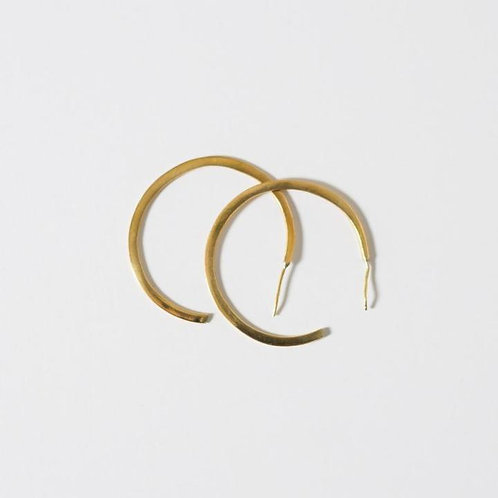 Karama Collection - Modern Hoop Earrings (Medium)