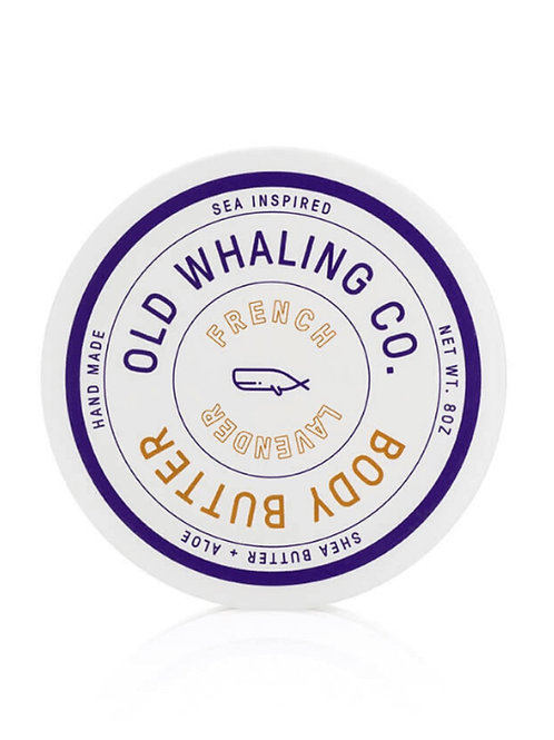 Old Whaling Co. - French Lavender Body Butter 8oz