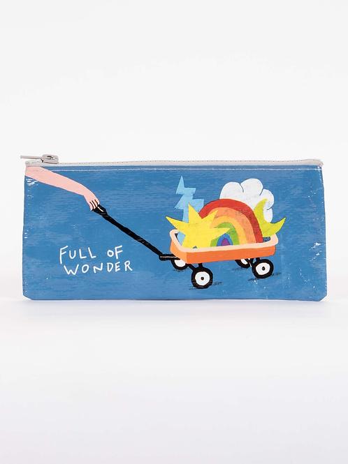 Blue Q - Full of Wonder Zipper Pencil Pouch