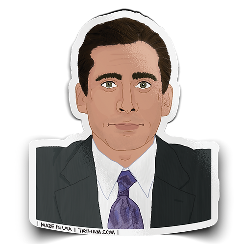 Tay Ham - Michael Scott The Office Sticker
