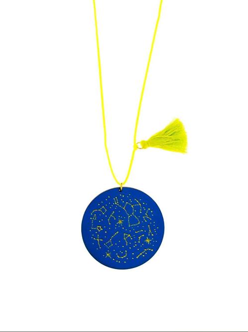 Gunner & Lux - Constellation Tassel Necklace