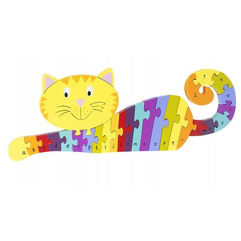 Orange Tree Toys - Cat Alphabet Puzzle