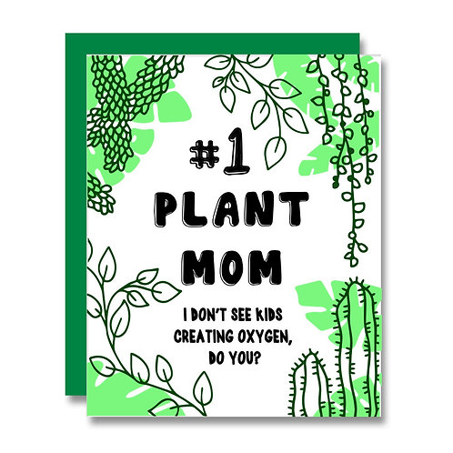 Papa Llama - #1 Plant Mom