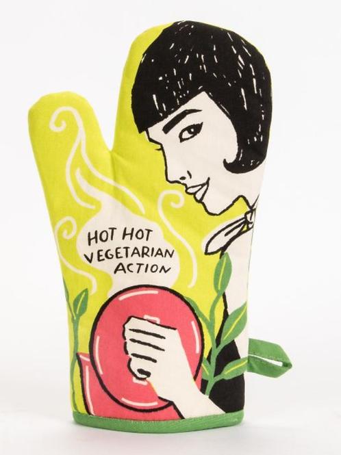 Blue Q - Hot Hot Vegetarian Action Oven Mitt