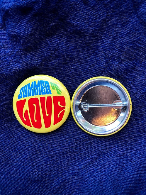 Summer of Love Button