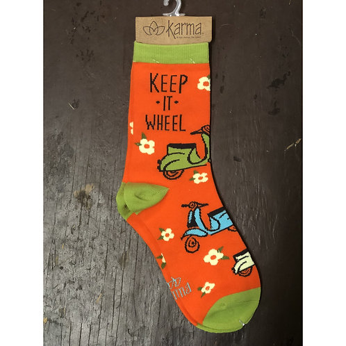 Karma - Keep It Wheel Socks