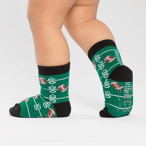 Sock It To Me - Touch Down Toddler Crew Socks