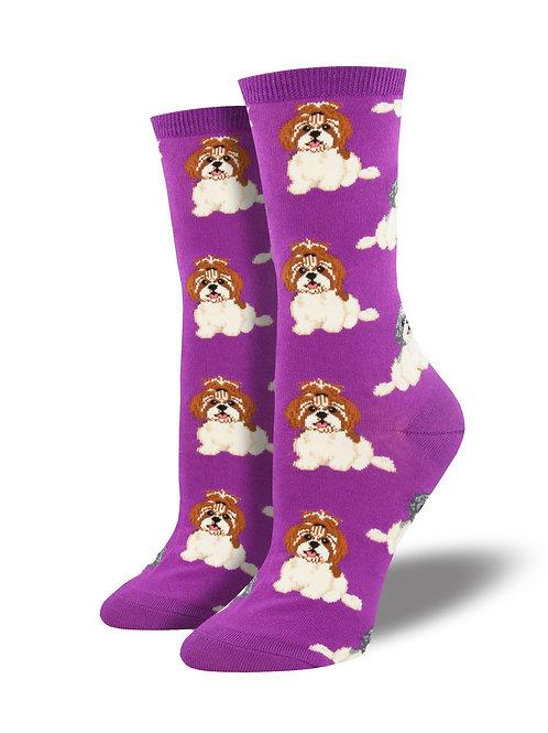"""Socksmith - """"I Shih Tzu Not"""" Women's Socks"""