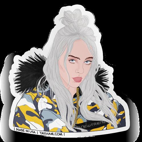 Tay Ham - Billie Eilish Sticker