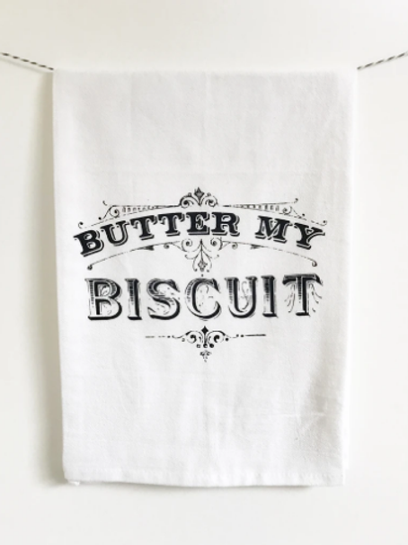 Coin Laundry - Butter My Biscuit Kitchen Towel