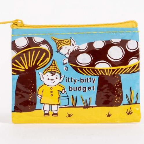 Blue Q - Itty Bitty Budget Coin Purse
