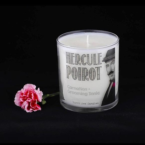 North Ave - Hercule Poirot Candle