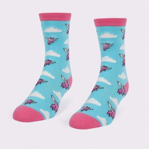 Headline Socks - When Pigs Fly Women's Socks