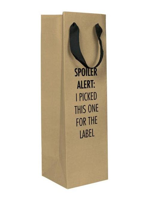 Pretty Alright Goods - Spoiler Alert Wine Gift Bag