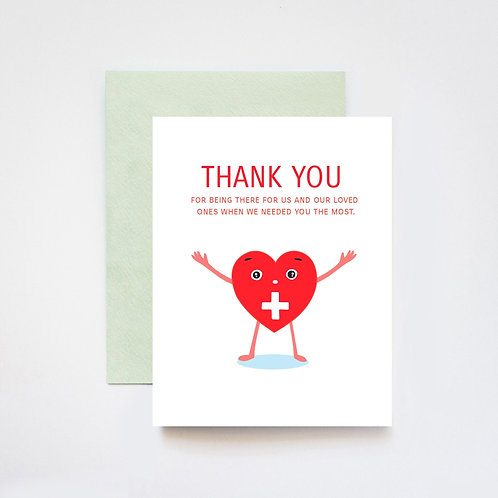 ILootPaperie - Thank You Healthcare Workers Card