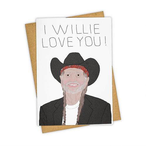 Tay Ham - I Willie Love You Card
