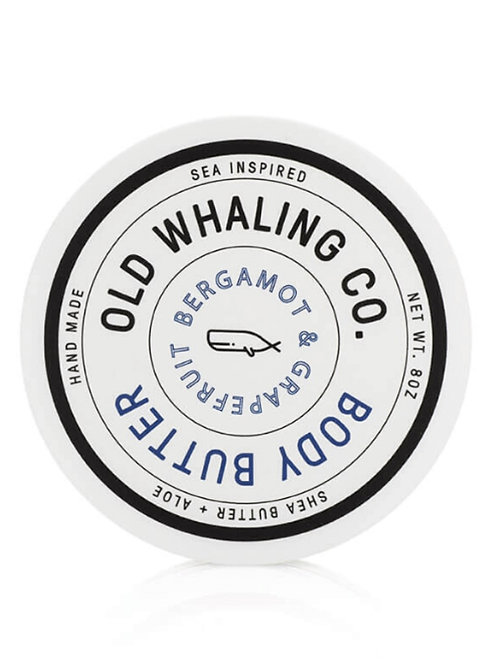 Old Whaling Co. - Bergamot & Grapefruit Body Butter 8oz