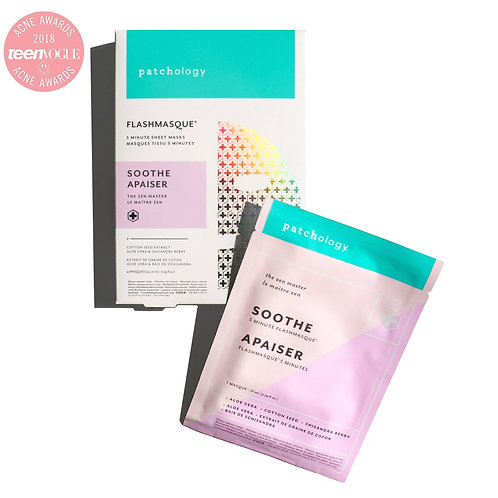 Patchology - Soothe 5 Minute Sheet Mask