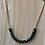 Thumbnail: Rachel Eva - Green Bead Gold Chain Necklace