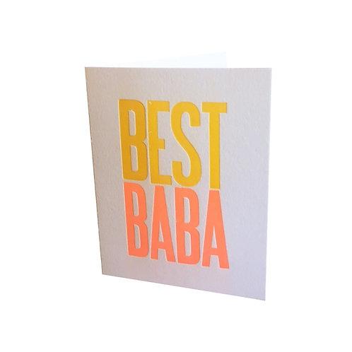 Lady Bones Print - Best Baba Greeting Card