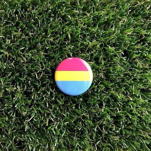 Double Denim Dude - Pansexual Pride Button