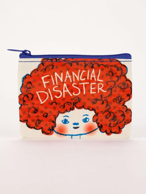 Financial Disaster Coin Purse