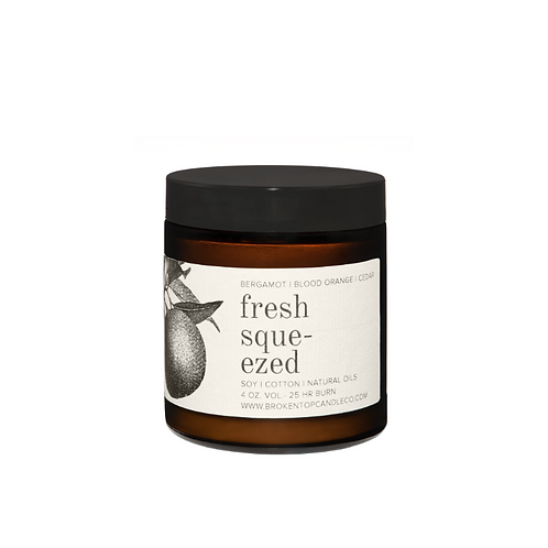 Broken Top Candle Co. - Fresh Squeezed 4oz Soy Candle