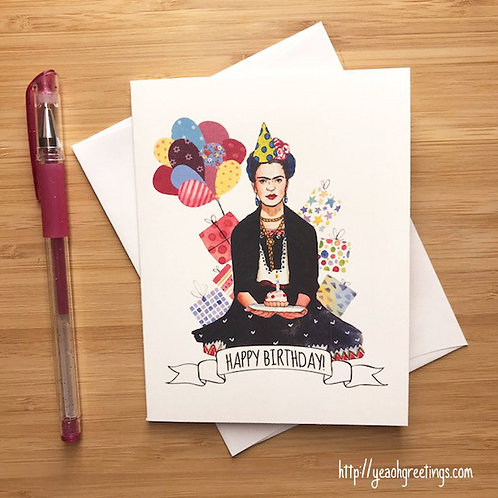 Yeaoh Greetings - Frida Kahlo Birthday