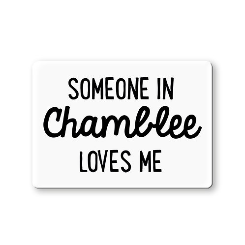 Rock Scissor Paper - Someone In Chamblee Loves Me Magnet