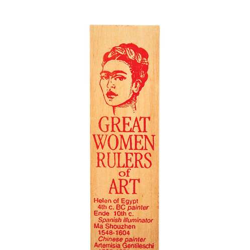 Channel Craft - Great Women of Art Ruler