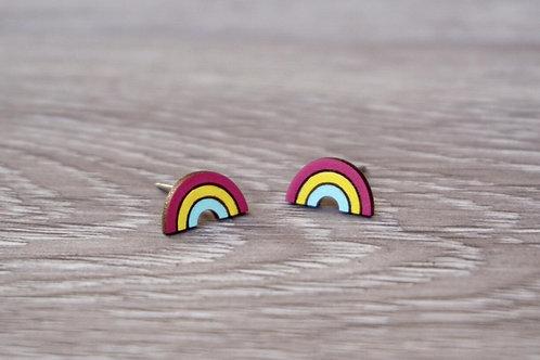 Lumen House - Rainbow Stud Earrings
