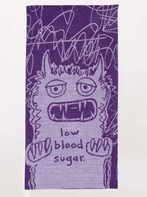 Blue Q - Low Blood Sugar Dish Towel