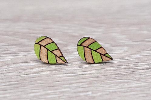 Lumen House - Leaf Stud Earrings