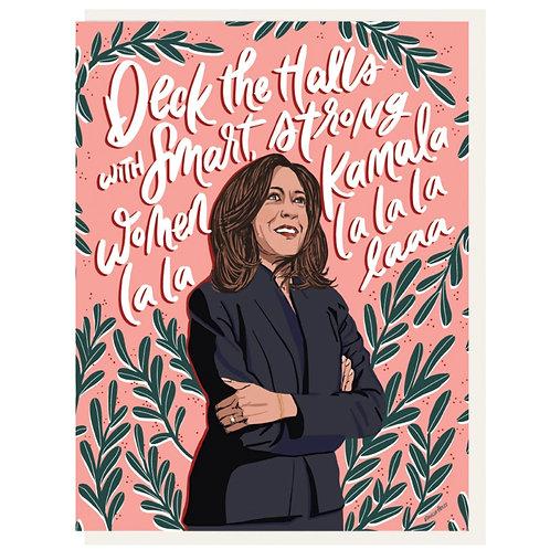 Dahlia Press - Kamala La La Card