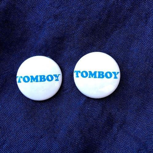 Gunner & Lux - Tomboy Button