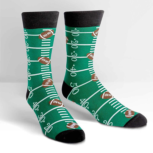 Sock It To Me - Touch Down Crew Socks