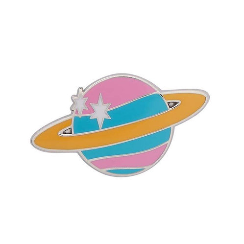 Erstwilder - Saturn the Sixth Enamel Pin